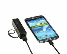 Battery Recharge USB Portable Back-Up  2000mAh Black Universal Aduro