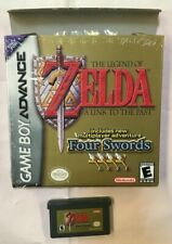 LEGEND OF ZELDA FOUR SWORDS A LINK TO THE PAST GAME BOY ADVANCE GBA NTSC