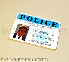 DIRTY HARRY Style ID Card PVC Prop Replica Clint Eastwood MADE IN USA