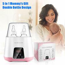 Mom Portable 5-In-1 Baby Bottle Warmer Steam Sterilizer Food Breastmilk Heater