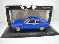 Ford Capri RS 2600 1970 in blau Limitiert auf 354 Stück  Minichamps 1:18 NEU OVP