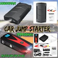 99900mah 12V Arrancador Coche Emergencia Cargador De Batería Jump Starter