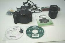 Canon EOS Rebel T3i / EOS 600D 18.0MP Digital SLR Camera Kit-Lens And Extras