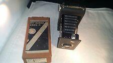 Kodak 1930s Jiffy Six 16 Camera Folding Bellows Twindar Lens Art Deco w Box #890