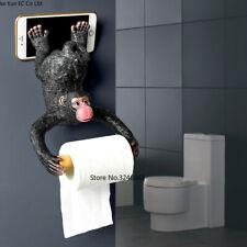 Bathroom Monkey Tissue Holder Roll Holder Toilet Paper Holder Resin Waterproof