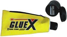 Mäppchen Schlampermäppchen XL Federmäppchen + Bleistift-Spitzer Motiv GlueX