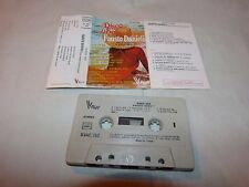 FAUSTO DANIELI  - K7 audio / tape !!! DISCO SAX !!!