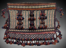 antik Orient  Nomaden Kelim Zelttasche Torba Antique Baluch nomad Afghanistan -A