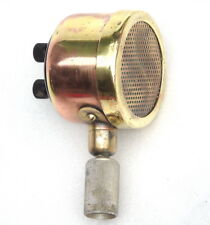 ALL BRASS VINTAGE 1953 VITAVOX LTD. ADMIRALTY PAT. NO 12936 MICROPHONE 10456 MIC