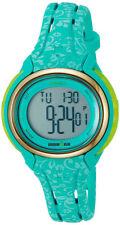 Timex Women's Ironman Sleek 50 Lap Digital 100m Green Resin Watch TW5M03100