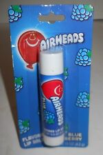 Airheads Blue Raspberry Flavored Lip Balm, Like The Candy! .15oz Tube, Carded!
