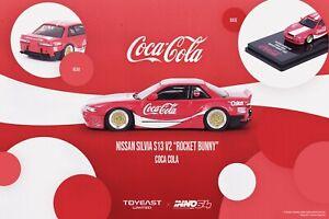 INNO64 1:64 Pandem Rocket Bunny Nissan Silvia S13 Coca Cola