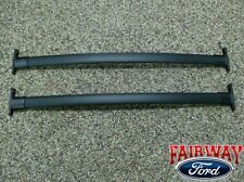 2011 thru 2015 Explorer OEM Genuine Ford Black Roof Rack Cross Bar Set 2-piece