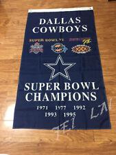 NFL Dallas Cowboys flag Champion Flag 3ftx5ft Banner 100D Polyester Flag