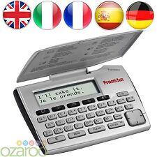 Franklin 5-lenguaje Electrónica Traductor Inglés Alemán Francés Español Italia