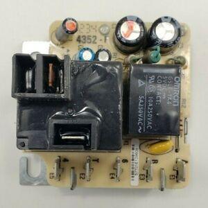Trane Fan Delay Control Board WR57T01-001 24 VAC Coil N.O. 4352-F
