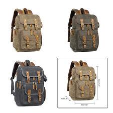 "Photography Camera Backpack Bag Padded Case for Canon Sony Dslr Lens 14""Laptop"