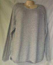 Women's Gray Pullover Crewneck Sweater Size XXL NWT
