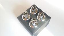 NEW BMW AC Schnitzer chrome door lock pin E34 E36 E46 E38 E39 E60 E81 E87 M3 M5
