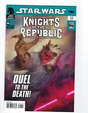 STAR WARS KNIGHTS OF THE OLD REPUBLIC # 46 Dark Horse Comics NM (2005 series)
