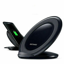 Fast Qi Wireless Charger Charging Pad Stand Dock for Samsung Galaxy S8 S7 S10 S9