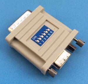 Vintage Macintosh Computer to VGA Monitor Adaptor (RGB to VGA 6-way DIP Switch)