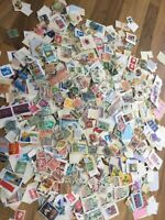 World Stamps On /off paper vintage - modern commonwealth unchecked lot 1 ww11