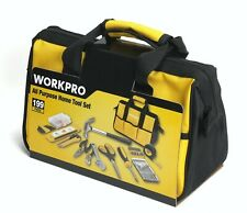 WorkPro 199-Piece Home Repair Tool Kit Set hand case box household