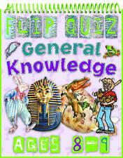 Flip Quiz General Knowledge:Ages 8-9 by Camilla De la Bedoyere9781848102699-G066