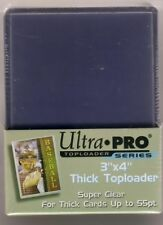 """Ultra-Pro 3""""x4"""" 55 pt. thick top loader package of 25"""