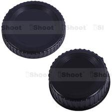 Rear lens cover ✚ camera body cap for Nikon D7000 D2X D2H D200 D1X D1H D100 D50