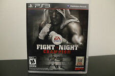 Fight Night Champion  (Sony Playstation 3, 2011) *Tested/Complete
