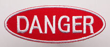 DANGER - Warning Sign Fun Embroiderd Iron-On Patch - MIX 'N' MATCH - #2V30