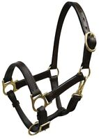NEW ADULT SIZE GOAT OR SHEEP LEATHER HALTER TURN OUT EWE OR RAM - BILLY OR NANNY