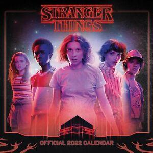 Stranger Things Calendar 2022 Official Merchandise Christmas Gift Xmas Present