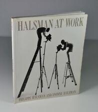 """Halsman at work"", Harry N. Abrams Inc, publishers, New York, 1989"