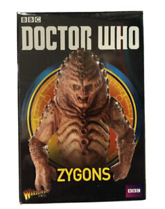 DOCTOR WHO MINIATURES Warlord Games NEW Zygons