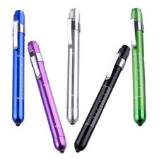 LED Penlight Pen Light Torch with Pupil Gauge Emergency Medical Doctor Surgical