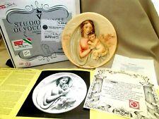 """Il Dono della Fede """" Gift of Faith"""" Collector Plate #A2957 di Alberto Santangela"""