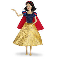 "Disney Authentic Snow White Poseable Toy Doll Figure 12"" Girls Princess Gift NIB"