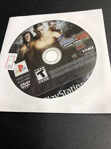 WWE SmackDown vs. Raw 2010 Featuring Ecw PlayStation 2 Ps2 2009 Disc Only *