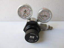 Matheson 3552-170 Single Stage High Purity Miniature Regulator - 316L SS - 60psi