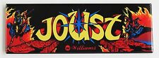 Joust Marquee FRIDGE MAGNET (1.5 x 4.5 inches) arcade video game header ostrich
