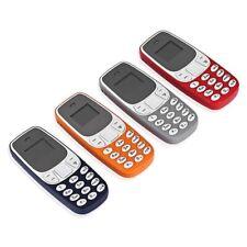Mini Telefono Bluetooth Micro 2 Sim + MicroSD Cellulare Tascabile Gsm Sms Mp3
