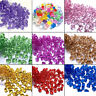 150 X Acrylic Crystal Gem Stone Ice Rocks Table Scatter Confetti Vase Filler NEW