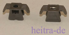 LEGO Ninjago - 2 x Rüstung / Brustpanzer perl - dunkelgrau / Armor 30174 NEUWARE