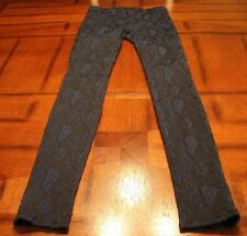NWOT~J BRAND~TEXTURED SUPER SKINNY JEANS~STYLE# 8485A708~MAJESTIC~STRETCH