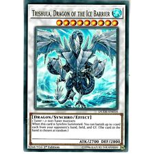 TRISHULA, DRAGON OF THE ICE BARRIER   DUDE-EN014   Ultra Rare - YuGiOh