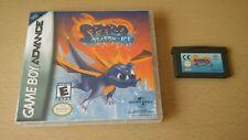 SPYRO : SEASON OF ICE - Nintendo Gameboy Advance Game + Custom Cover GBA