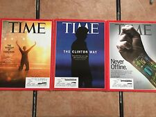 (3) Time Magazines Sept 4th & 22nd 2014 - March 23 2015